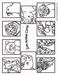 Colorning Sheets Printable Zoo Animals For Preschoolersnload Them