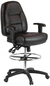 premium leather drafting chair 100kl1600 office 026 office