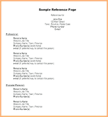 Listing References On Resume Reference Template Resume Reference For A Resume Cover Letter