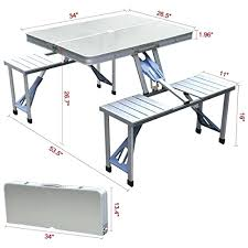 aluminium portable folding picnic table chairs set with umbrella. collapsible picnic table folding canada camping furniture heavy duty aluminium chairs portable set with umbrella ,