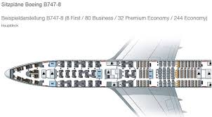 Boeing 747 8i Seating Chart Lufthansa Boeing 747 8 Business Class Sitzplan Minimalist