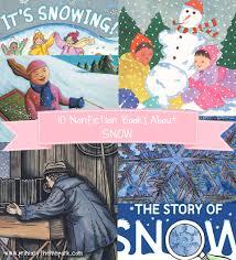 nonfiction children s books about snow