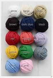 <b>5mm Diy accessories twisted</b> round 100% cotton cord decoration ...