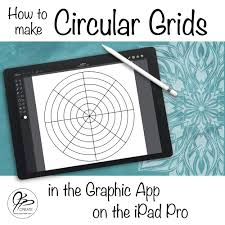 The company has a clear goal for sketchbook pro: How To Make Circular Grids In Graphic On The Ipad Jspcreate