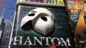 The Phantom Of The Opera Broadway Show Ticket In New York