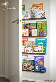 diy floating bookshelves