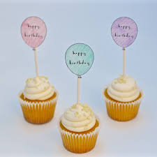 Free Printable Birthday Cupcake Toppers Make Life Lovely