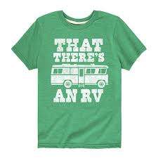 Amazon Com That Theres An Rv Youth Short Sleeve Tee Clothing