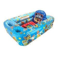 safety bath tub paw patrol inflatable safety bath tub safety first 1st baby toddler bath tub