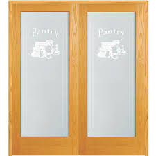 both active unfinished pine pantry design 1 lite frost prehung interior french door