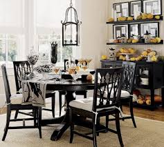 dining room table centerpieces decorations. decorate dark round table using classic dining centerpieces for traditional room under vintage lamp decorations