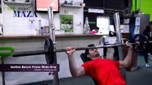So You Want To Work OutIncline Bench Press Grip