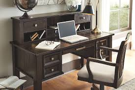 home office desk with hutch. Townser Home Office Desk With Hutch, , Large Hutch H