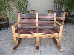 woodworking rocking chair wine barrel furniture plans pdf