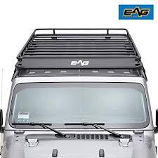eag 2018 2019 jeep wrangler jl 4 door roof rack full length