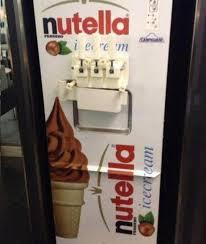 Ice Vending Machines Australia Extraordinary Nutella Ice Cream Machine In Australia