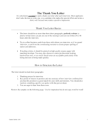 Free Post Interview Thank You Letter To Recruiter Templates At