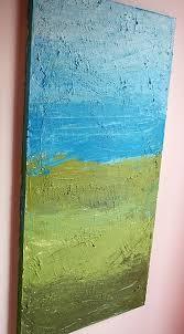 diy canvas art ideas textured