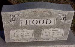 Claude Hood (1907-1995) - Find A Grave Memorial