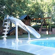 in ground pools with slides. In Ground Pool Slide Click For Larger Photos Above Slides Ebay Pools With S