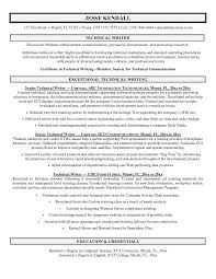 Example Technical Writer Resume Sample