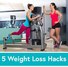 5 easy weight loss hacks