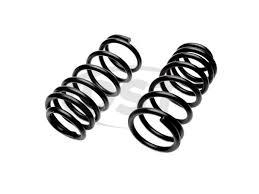 Moog Spring Chart Rear Variable Rate Coil Springs Pair
