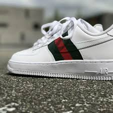 gucci air force 1. jordan shoes - gucci x nike air force one custom brand new 1