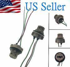 tail light bulb socket 7443 bulb socket brake turn signal light harness wire led pig tail plug 7440 t20