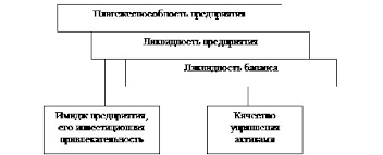 Анализ платежеспособности и кредитоспособности предприятия ООО Орион Взаимосвязь понятий ликвидность и платежеспособность