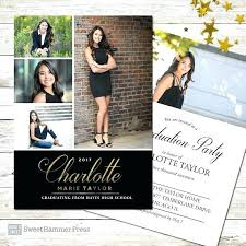 Design Your Own Graduation Invitations Custom Graduation Invitations With Terrific Custom Graduation