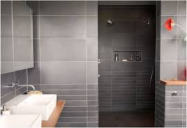 gray bathroom designs. Stunning Modern Bathroom Curved Wall Mirror Dark Gray Tile Accent Of Trend And Ideas Designs S