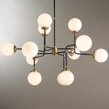 mid century modern lighting. Mid-Century Parlor Chandelier Mid Century Modern Lighting