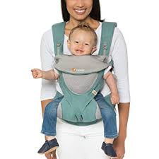 Amazon.com : Ergobaby Carrier, 360 All Carry Positions Baby Carrier ...