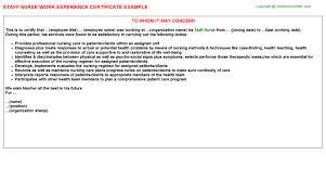 Staff Nurse Free Career Templates Downloads Job Titles
