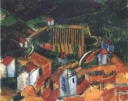 raoul dufy vence landscape 1908 oil on canvas 56 x 81 cm