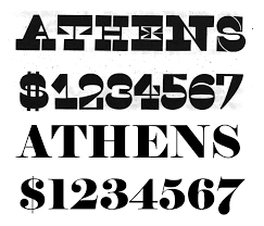 Life Font Reverse Contrast Typefaces Wikipedia