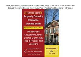 Texas property & casualty insurance prelicensing. Property And Casualty Insurance Exam Books Property Walls