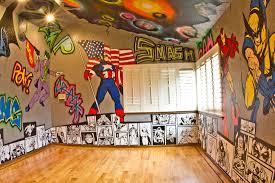 Marvel Superhero Bedroom Murals Neonearth Designs