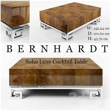 bernhardt soho luxe cocktail table