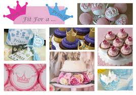 Embellished Crowns For A Royal Affair  BlogPrince Themed Baby Shower Centerpieces