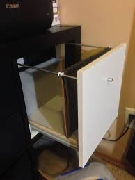 Convert Cabinet To File Drawer Ikea Expedit Filing Cabinet Hack 6 Steps With Pictures