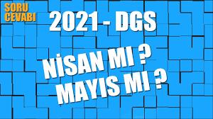 2021 Dgs Soru Cevabı - Nisan mı Mayıs mı - YouTube