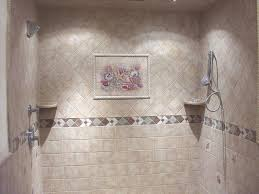 bathroom tile design ideas grey shower floor tile ideas