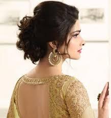 short hair bridal hairstyle indian