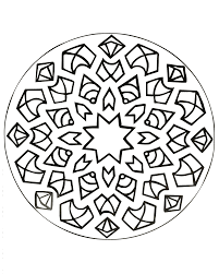 Free Coloring Page Mandalas To Download
