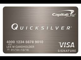 capital one quicksilver card review