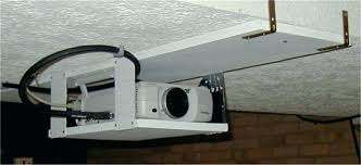 impressive design diy projector ceiling mount drop mounting down suspended of fresh