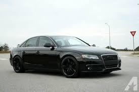 black audi 2010. Fine Black 2010 Audi A4 PREMIUM PLUS  BLACK ON S5 RIMS Inside Black I