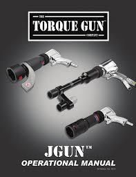 Jgun Torque Chart Jgun Torque Gun Manualzz Com